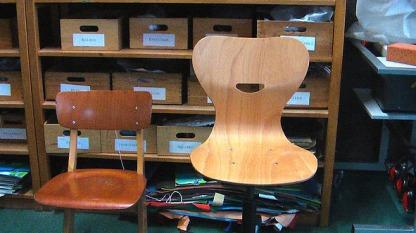 alter und neuer Stuhl