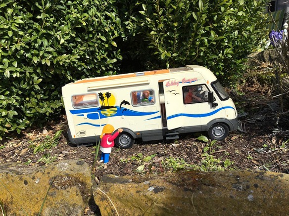 ausmalbilder playmobil wohnmobil  playmobil wohnwagen